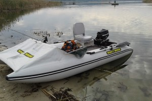 Надувная лодка ПВХ для рыбалкиb
