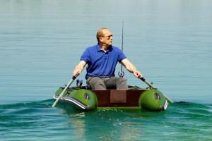 NEW! Single fishing boat Bobrenok BOATHOUSE