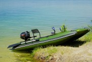 NEW! Single fishing boat Bobrenok BOATHOUSE
