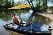 Ideal PVC boat for fishing and hunting