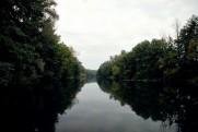 Река Северский Донец, устье реки Оскол в сентябре 2011 Изюм