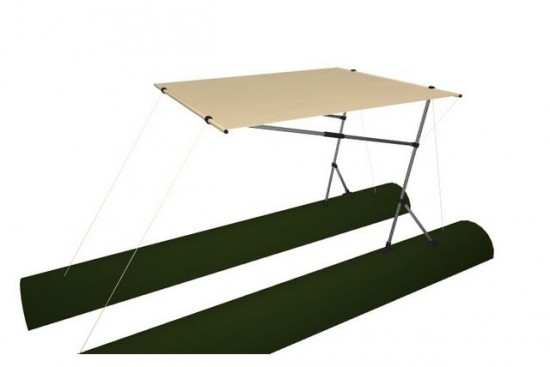 Awning for boat 160Х150 (SMART FISHER, BOBER)