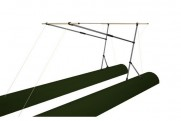 Awning for boat 140х180 (FISHER, SEA FISHER)