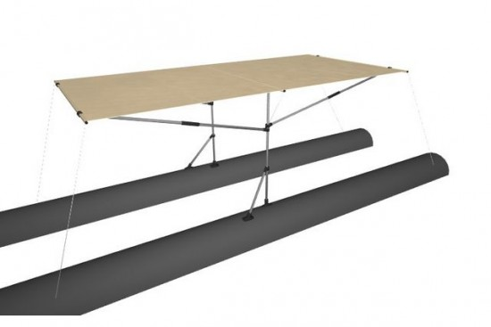 Awning for boat 280X100 (STREAM)