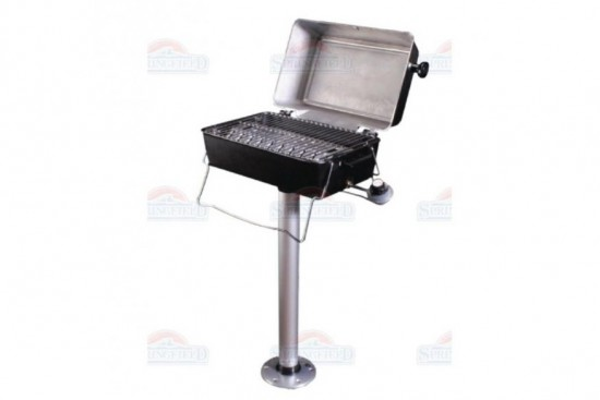 Gas grill set