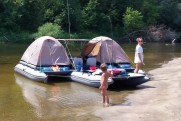 Inflatable catamaran FISHER 460