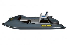 Inflatable lightweight catamaran SMART FISHER 370