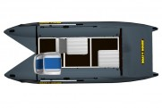Light catamarans SMART FISHER 370