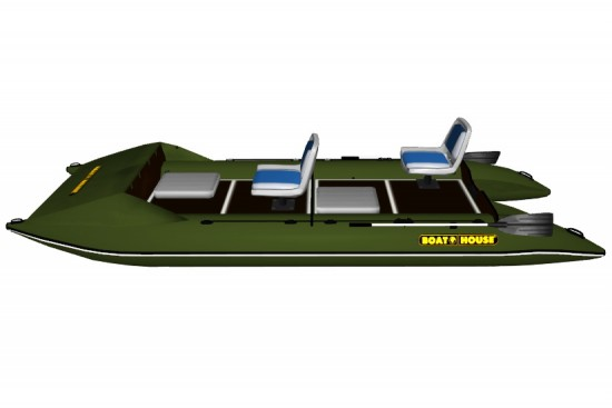 Light catamaran SMART FISHER 440