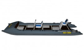 Inflatable lightweight catamaran SMART FISHER 570
