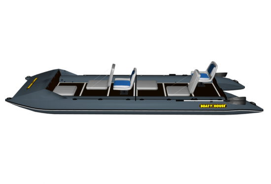 Inflatable catamaran FISHER 590