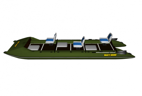 Inflatable catamaran FISHER 591
