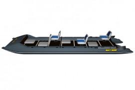 Inflatable lightweight catamaran SMART FISHER 640
