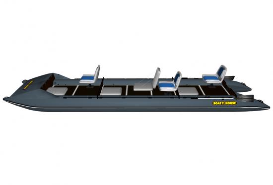 Inflatable catamaran FISHER 660