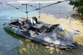 Bicycle catamaran - pedal-operated catamaran SMART FISHER 440