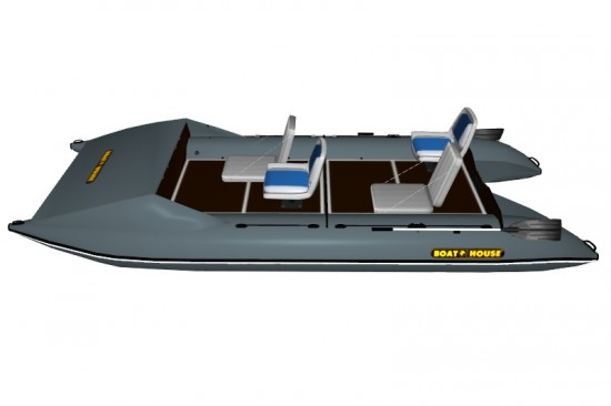 Catamaran PVC SEA FISHER 480