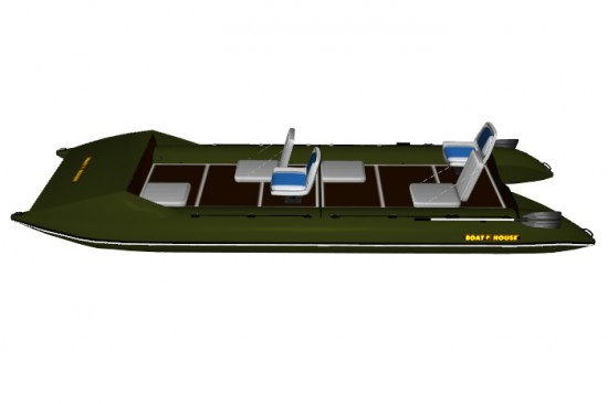 Catamaran PVC SEA FISHER 610