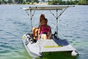 Light catamaran SMART FISHER 700