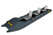 Inflatable kayak with transom pvc SPORT 561