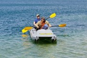 Inflatable transporter kayak SPORT 750