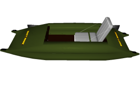 Frame-inflatable kayak Stream 300