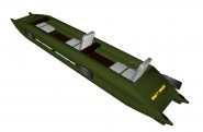 Frame-inflatable kayak Stream 485