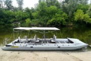 Marine catamaran TRAVEL MAX 730