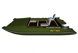 Catamaran for alloy TRAVEL 430