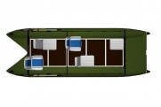 Inflatable catamaran FISHER 530