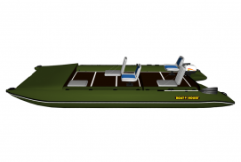 Catamaran for alloy TRAVEL 570