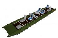 Inflatable catamaran FISHER 790
