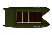 Marine catamaran TRAVEL MAX 530