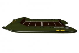 Marine catamaran TRAVEL MAX 660